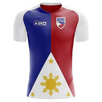 2018-2019 Filippinerne hjem koncept fodbold skjorte-små drenge