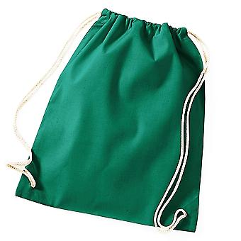Drawstrings Gym Bag In Cotton - 46x36cm - Gym Swimming Pool Sports Books