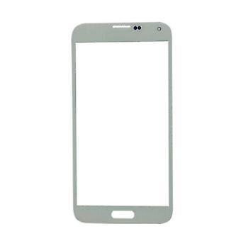 Material certificado® Samsung Galaxy S5 i9600 AAA + calidad vidrio delantero - blanco
