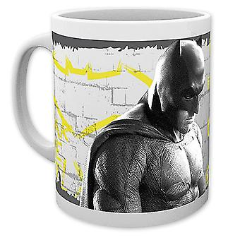 Batman vs Superman Cup wanted white, printed, ceramic, capacity approx. 320 ml., in gift box.