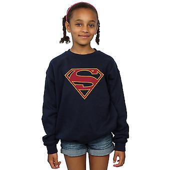 DC Comics meisjes Supergirl Logo Sweatshirt