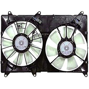 APDI 6034520 Dual Radiator and Condenser Fan Assembly