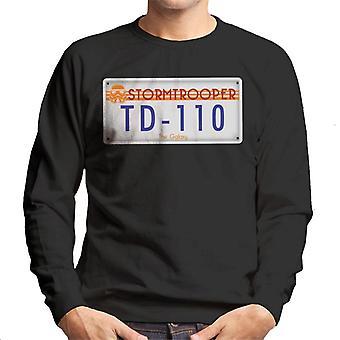 Original Stormtrooper registreringsskylt Mäns tröja