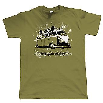Split Screen ratto Camper Van T Shirt - Vee Dub surf cappa Ride - regalo per papà