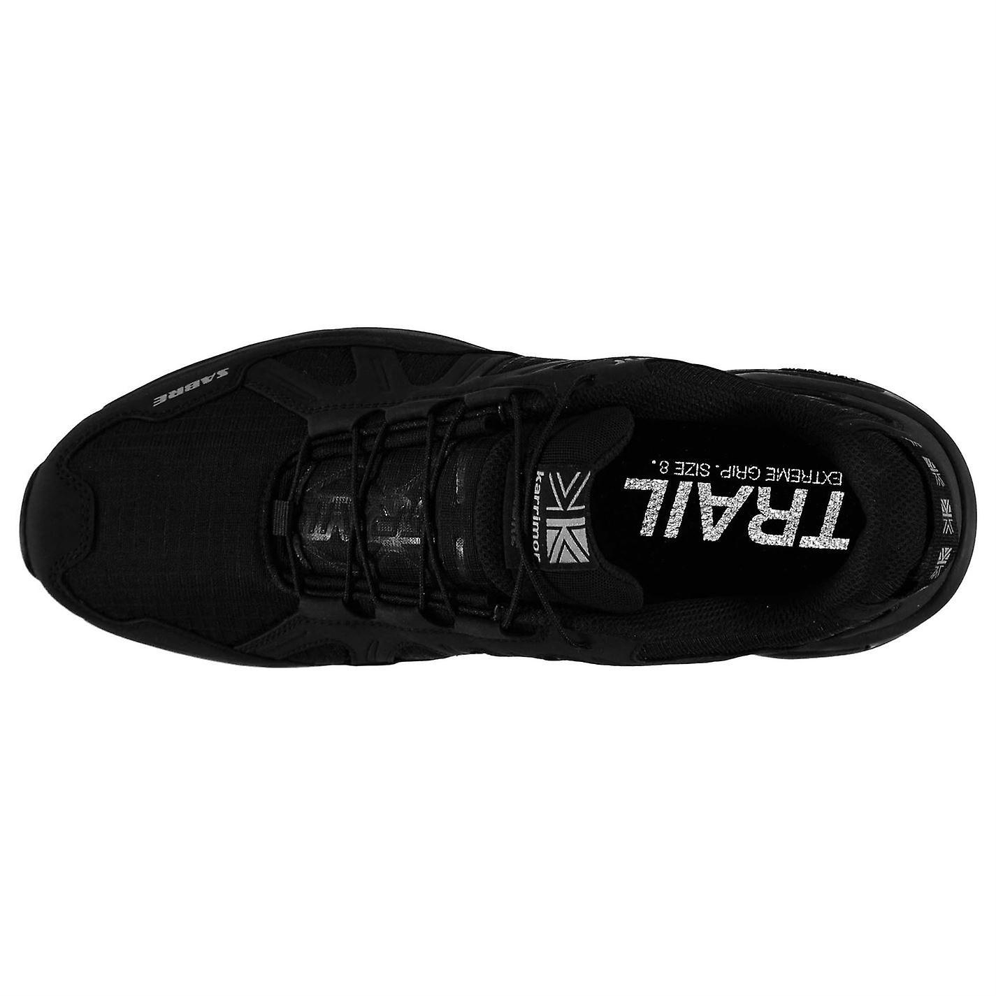 Karrimor Mens Sabre Trail Running scarpe tessile imbottito alla caviglia collo allacciatura rapida TS5Lo1