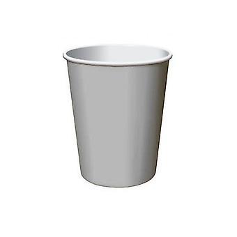 Zilveren 9oz Paper Cup (8 pk)