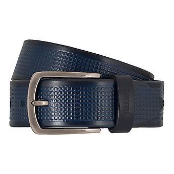 MIGUEL BELLIDO sport ceintures cuir ceinture d'usure ceintures hommes bleu 7704