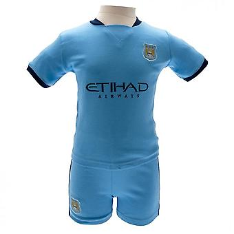 Manchester City FC Childrens/Kids T Shirt And Short Set