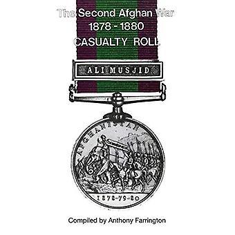 Seconda guerra afghana 1878-1880casualty Roll