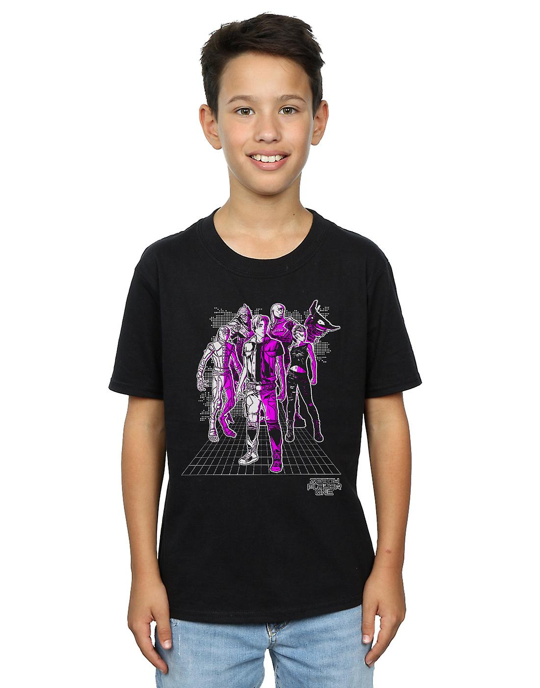 Ready Player One Boys The High Five T-Shirt