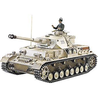 Taigenské ručně malované RC tanky-inovace kovů-Panzer IV-360 Turret