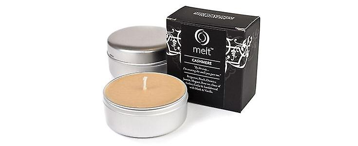 Melt Travel Tin Hand Poured Scented Candle - Cashmere