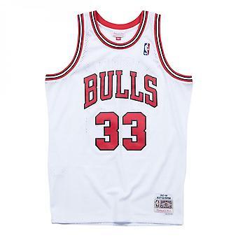 Mitchell und Ness Nba Chicago Bulls Scottie Pippen 1997-98 Swingman Jersey White