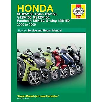 Honda 125 Scooters Service and Repair Manual - 2000 to 2010 by Matthew