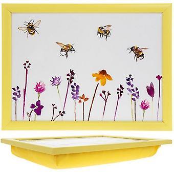 Kiireinen mehiläiset upea suora kulmio Lap Tray Leonardo Collection