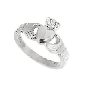 Sterling Silver Ladies Claddagh Ring By Fallers of Galway