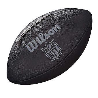 Wilson NFL Jet Black Composite Rubber Grip American Football Ball Official Size