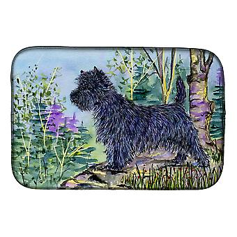 Carolines Treasures  SS8665DDM Cairn Terrier Dish Drying Mat