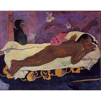 The Mind Watches Cloth, Paul Gauguin, 50x40cm