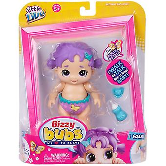 Little Live Bizzy Bubs Walking Baby - Polly Petals #28469
