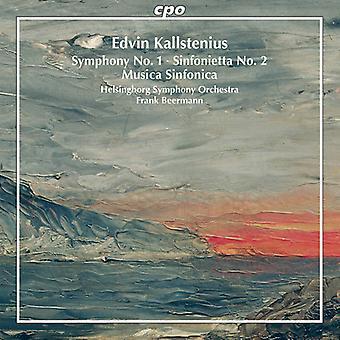 Kallstenius / Beermann / Helsingborg Sym Orch - symphonique œuvres [CD] USA import
