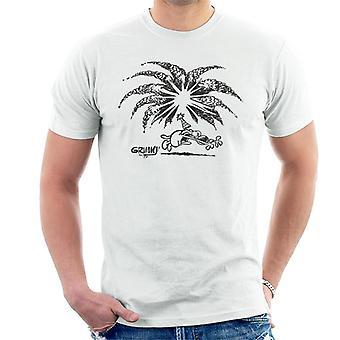 Grimmy fødselsdag Firework mænds T-shirt