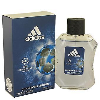 Adidas uefa champion league eau de toilette spray by adidas 539874 100 ml