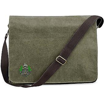 Essex Regiment - Licenza British Army Ricamato Vintage Disegno Messaggero Bag