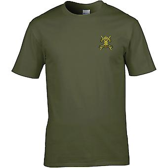 9th Queens Royal Lancers - Licensed British Army Embroidered Premium T-Shirt