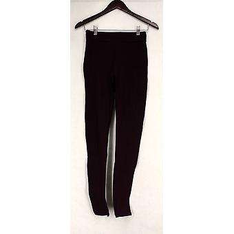 Slimming Options for Kate & Mallory Pants Knit Legging Solid Red A429903