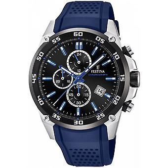 Festina Original Quartz Analog Man Watch z silikonową bransoletą F20330/8