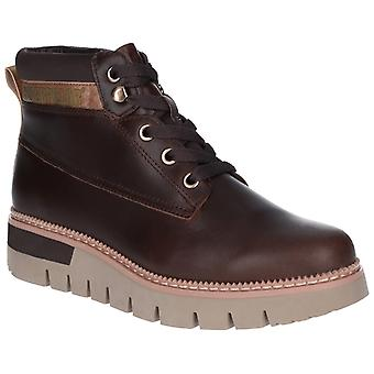 CAT Lifestyle Womens Pastime Wedge Lace Up Boot