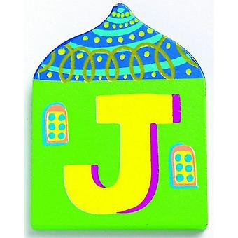 Djeco Cottage letter - J (Babies and Children , Toys , Others)