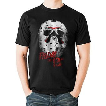 Friday The 13th Adults Unisex Mask Design T-Shirt