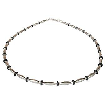 DNA Jewels - Necklace - Onyx - Stainless Steel