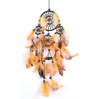 Oransje og svart Dream catcher