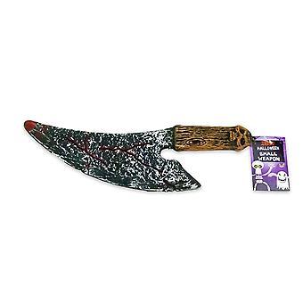 Halloween Bloody horror knife of plastic 30cm party joke Party No. 1
