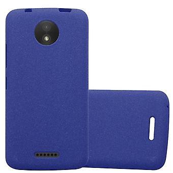 Cadorabo Case for Motorola MOTO C Case Cover - Mobile Phone Case made of flexible TPU silicone - Silicone Case Protective Case Ultra Slim Soft Back Cover Case Bumper