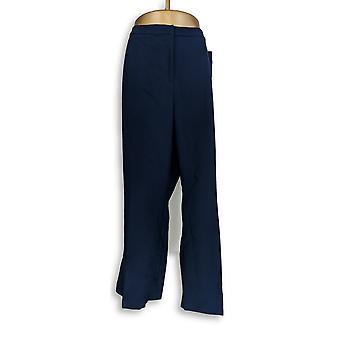 Susan Graver Femmes-apos;s Petit Pantalon 26WP GRAVER City Stretch Blue A343091