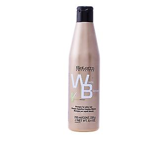 Salerm valkoinen Shampoo valkoiset hiukset 250 Ml Unisex