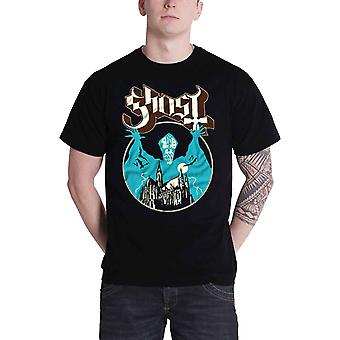 Ghost T Shirt Opus Eponymous papa band logo new Official Mens Black