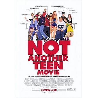 Inte en annan tonåring film (dubbelsidig) (2001) original Cinema affisch