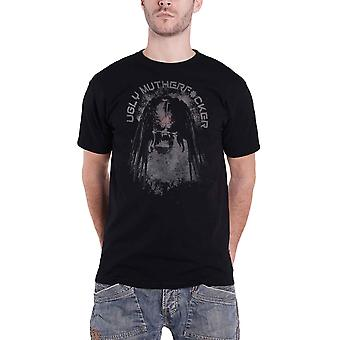 Predator T Shirt Ugly Mofo Movie Logo new Official Mens Black