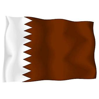 Sticker Sticker Sticker Outdoor Flag Vinyl Car Moto Qatar Qatari