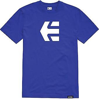 Etnies Icon Short Sleeve T-Shirt in Royal