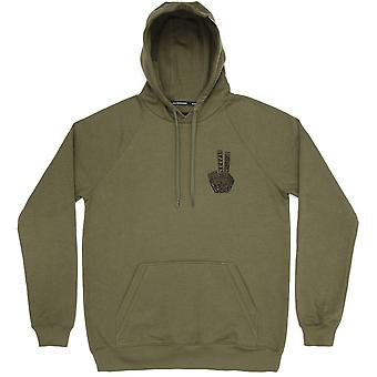Planks Hand Of Shred Hood - Army Green