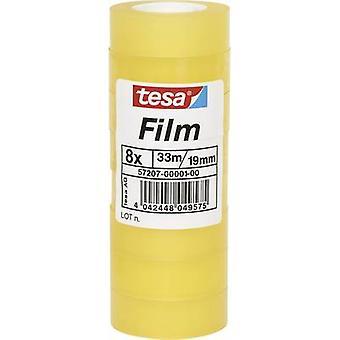 tesa 57207-01-00 Tesa film tesa® Transparent (L x W) 33 m x 19 mm 8 st