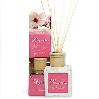 Florex room fragrance with chopsticks - magnolia - transforms your home into a feel-good oasis 100 ml