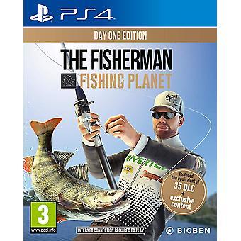 De visser visserij planeet PS4 spel