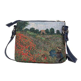 Moneta-MAK pole ramię crossbody Bag przez signare gobelin/xb02-art-cm-popfl